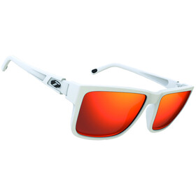 Tifosi Hagen XL Glasses matte white - smoke red